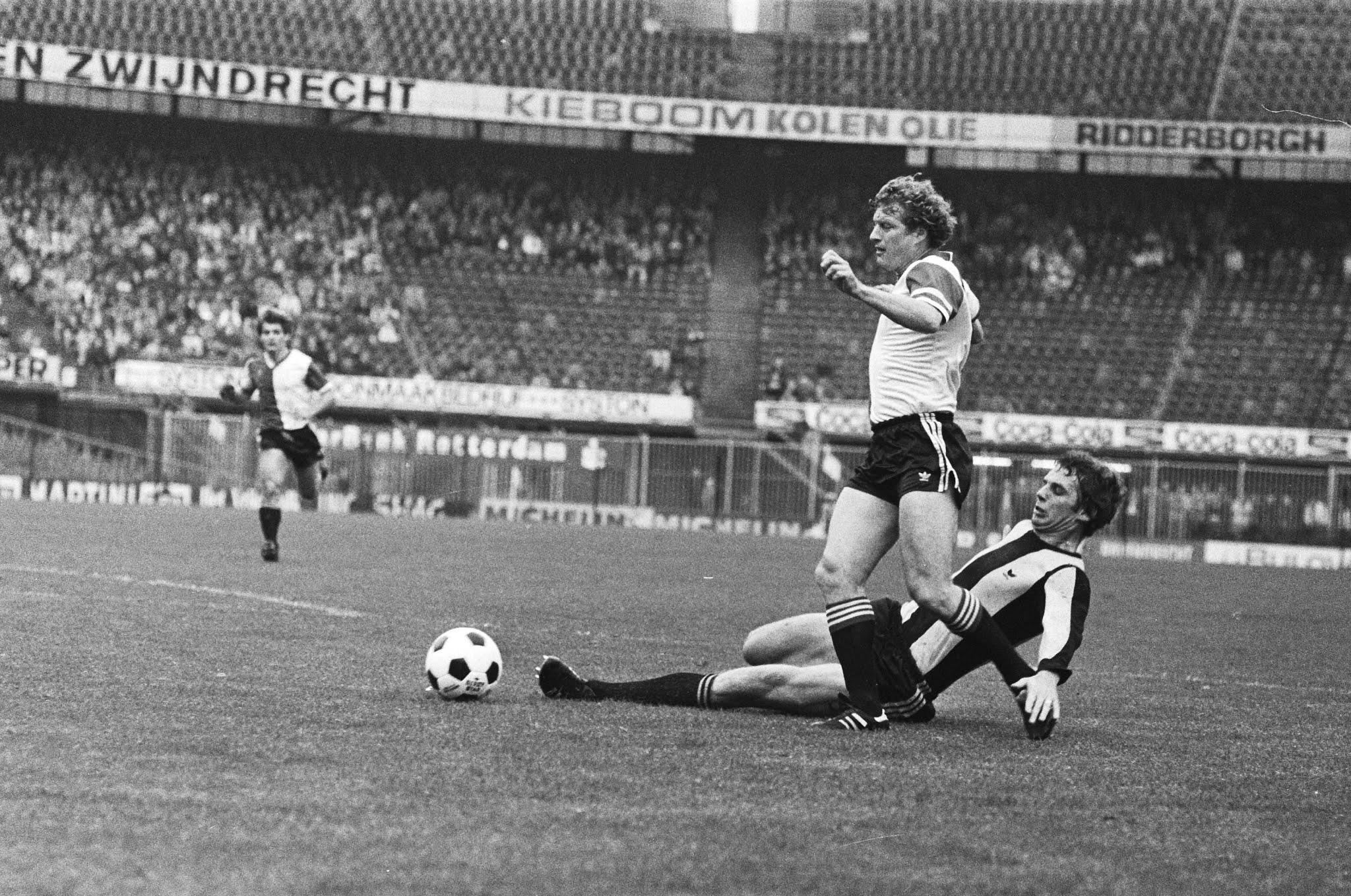 Wim Jansen in duel met Joop Heezen