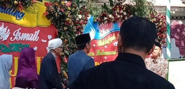 Presiden Joko Widodo dan Ibu Hadiri Pernikahan Putri Rais Aam PBNU KH Miftahul Akhyar