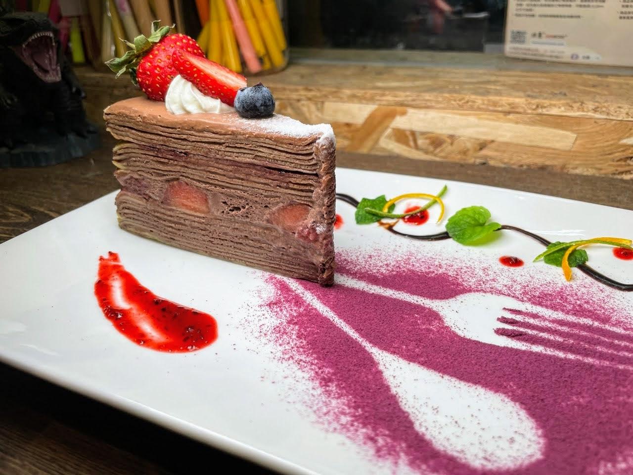 【台南|安南】Rubby手作千層|草莓季限定款來啦!|台南甜點|千層蛋糕|生日蛋糕|千層推薦|LGBT+友善店家_食宿旅人蓋瑞哥