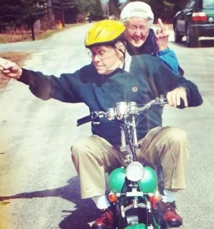 Os avós mais estilosos da internet