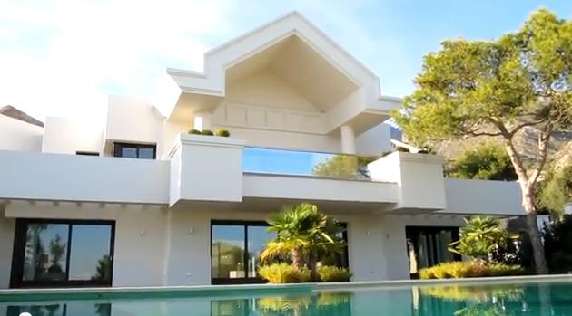 Casas minimalistas interiores exteriores for Casa minimalista contemporanea