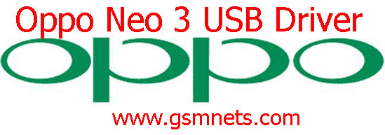 Oppo Neo 3 USB Driver Download