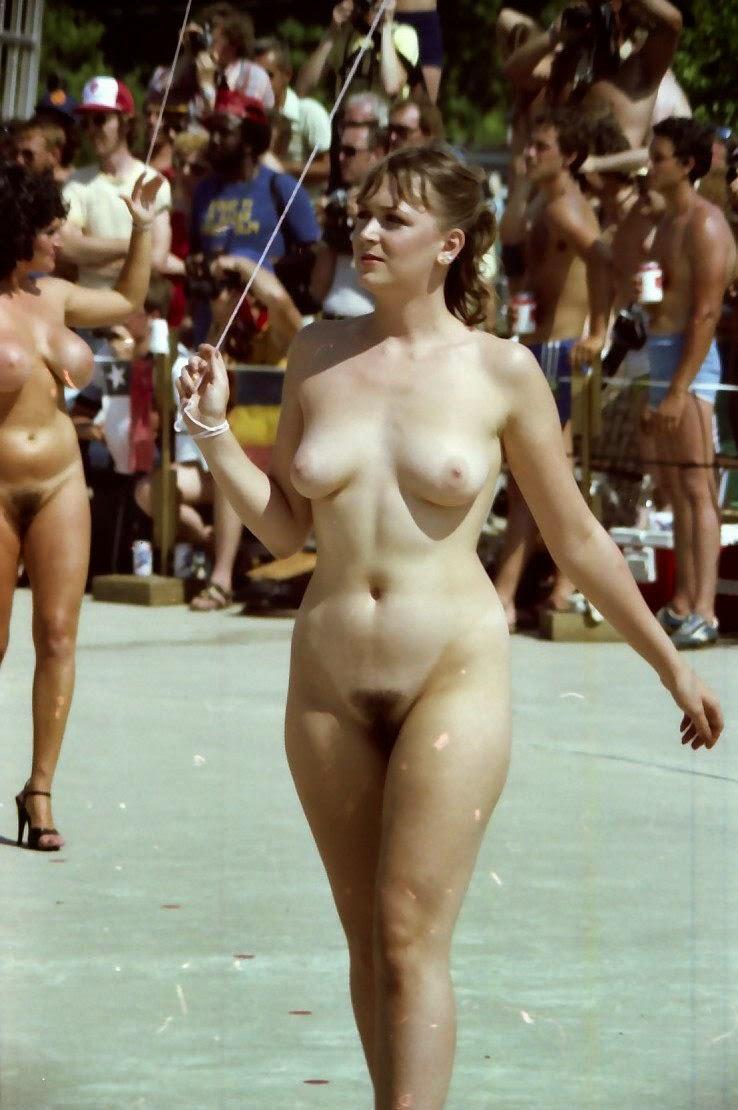 Voyeur pageant naturist