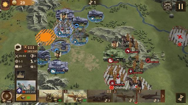 Glory of Generals 3 Hileli APK - Sınırsız Madalya Hileli APK
