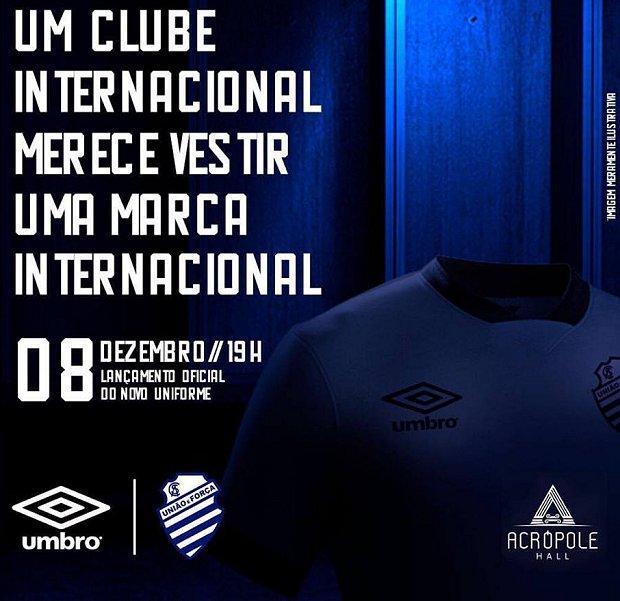 b61f8c6818 Umbro é a nova fornecedora esportiva do CSA - Show de Camisas