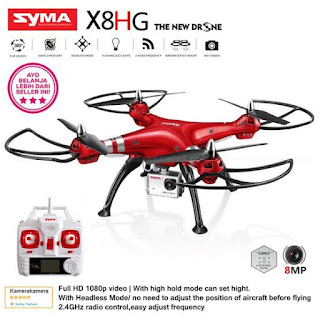 Syma X8HG 2.4G Full HD 1080p Video 8.0MP Photo Altitude Hold