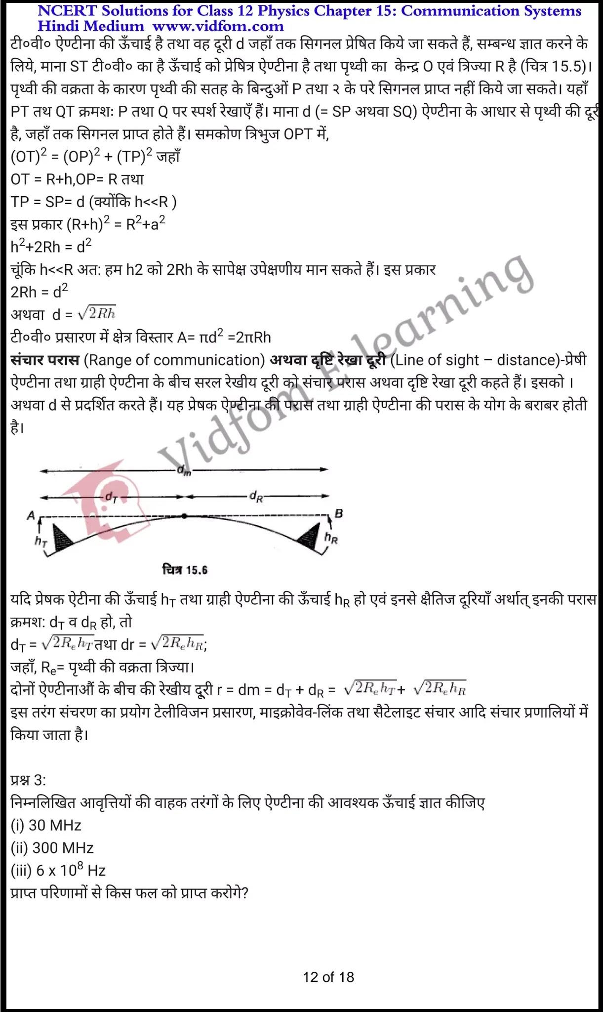 class 12 physics chapter 15 light hindi medium 12