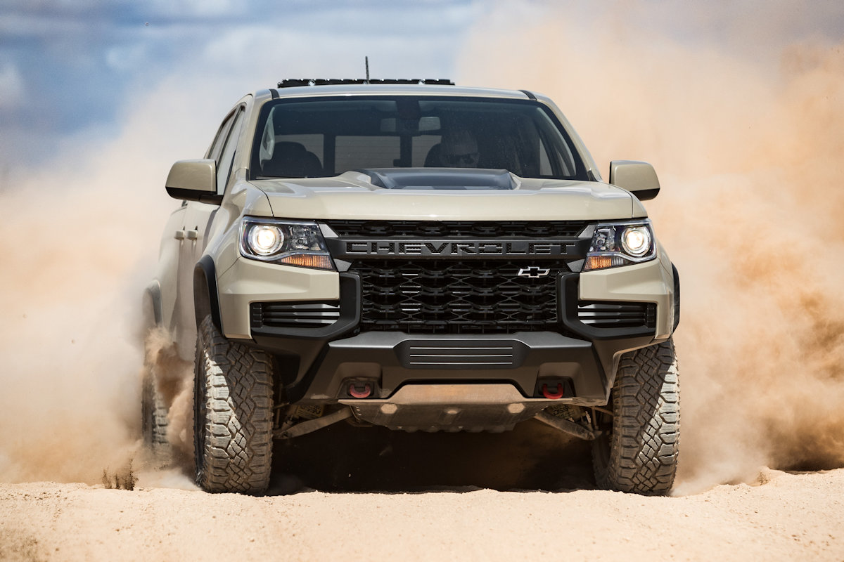 The 2021 Chevrolet Colorado's Front-End is Basically All ...