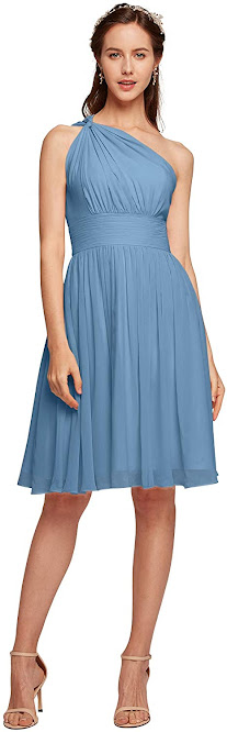 Sexy Short Chiffon Bridesmaid Dresses