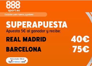 888sport superapuesta euroliga Real Madrid vs Barcelona 14 noviembre 2019