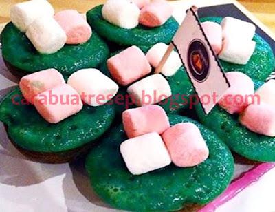 Foto Resep Kue Cubit Bubble Gum Marshmallow Sederhana Spesial Lembut dan Empuk Asli Enak