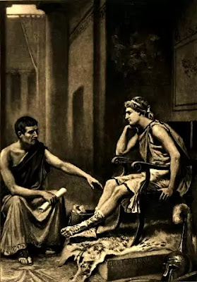 In the celebrated 'Poetics' Aristotle has provided the famous definition of tragedy.
