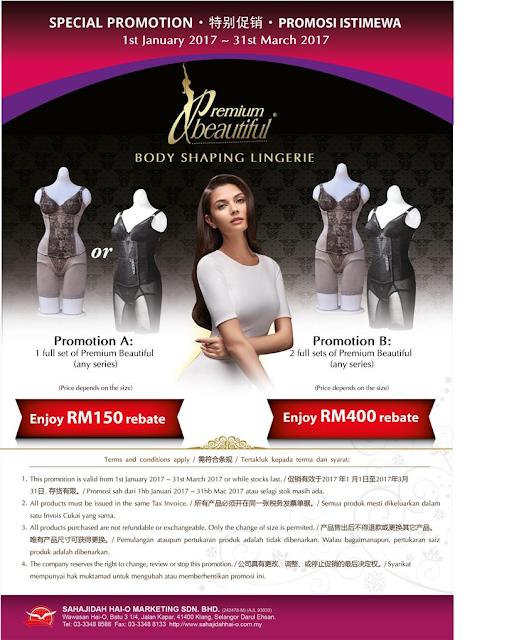 Promotion PB corset murah