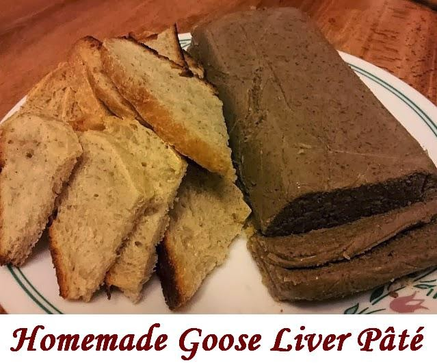 adventures in self sufficiency goose liver p 226 t 233