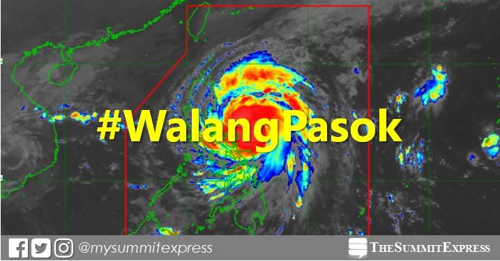 #WalangPasok: Class suspensions, Wednesday, November 11, 2020