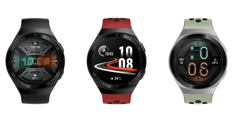 Different designs of Watch GT 2e