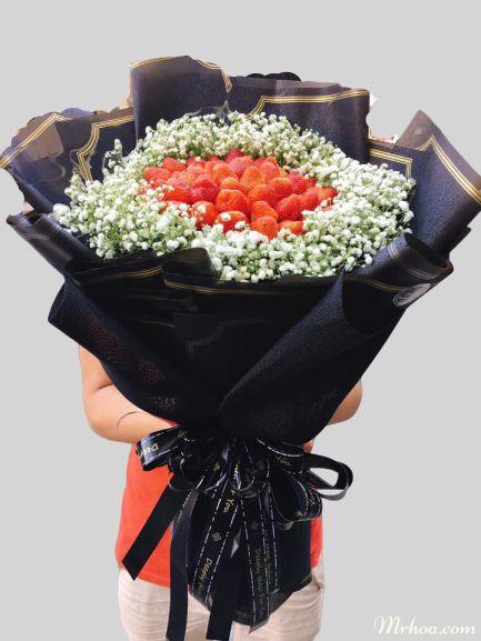 bo hoa dau tay baby
