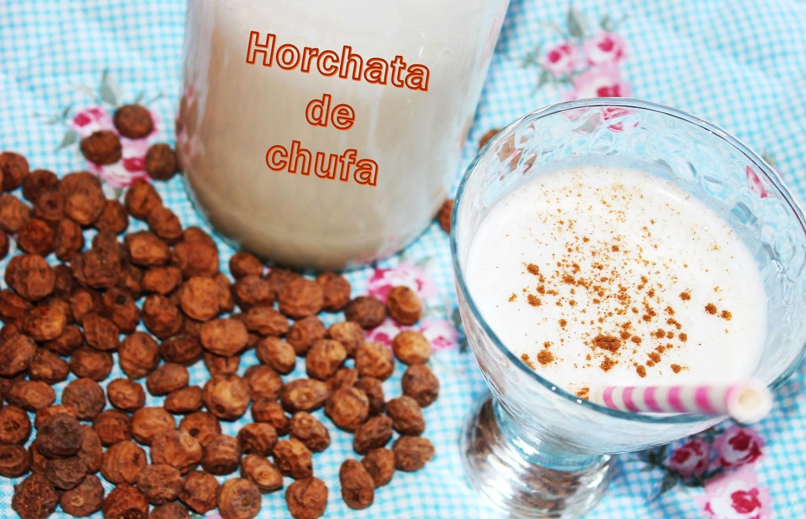 HORCHATA DE CHUFA CON THERMOMIX {MUY RICA}