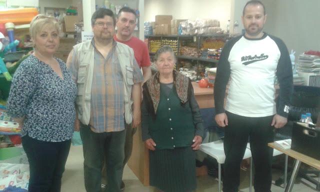 Προσφορά Λαχανικών στο Κοινωνικό Παντοπωλείο Λάρισας