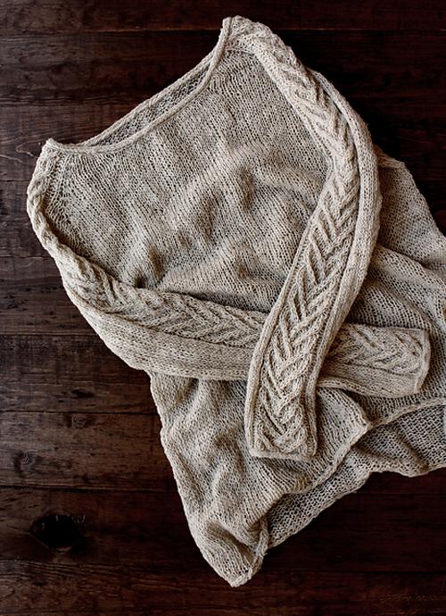 Wheat Sweater - Knitting Pattern