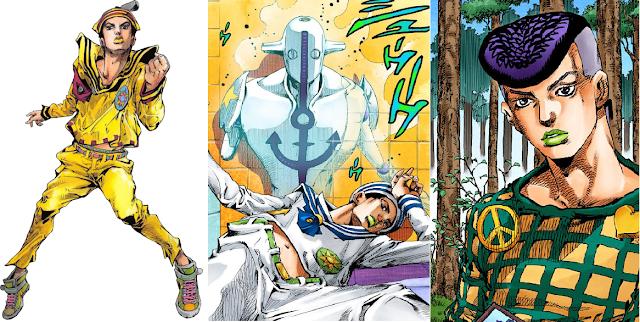 Karakter Utama JoJo's Bizarre Adventure - Main Character JoJo's Bizarre Adventure - Protagonis JoJo's Bizarre Adventure