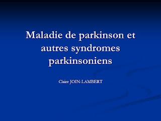 Maladie de parkinson et autres syndromes parkinsoniens .pdf