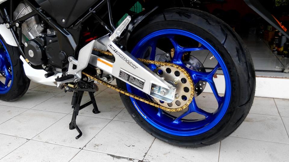 ACR Blog Honda CB150F Velg Axio Blue Ocean