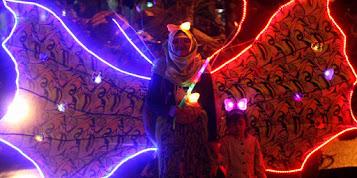 kemeriahan wisata bandung light festival