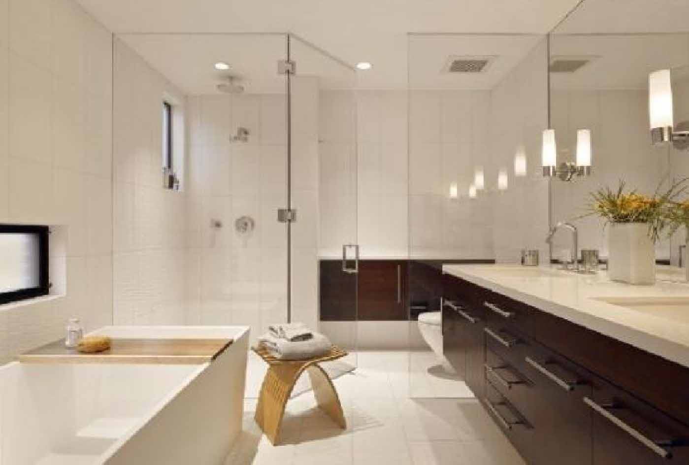 Hiasan Bilik Mandi Cermin Dinding