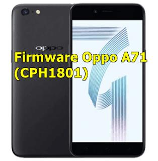 Firmware Oppo A71 (CPH1801)