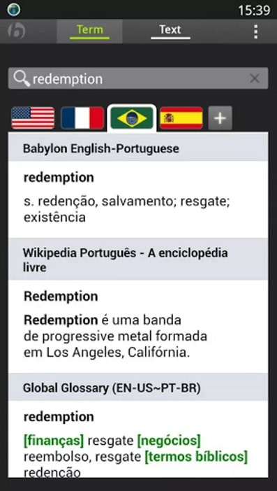 Apps for students Babylon Translator app