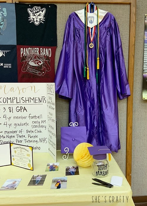 Make a Graduation Display to celebrate your graduate
