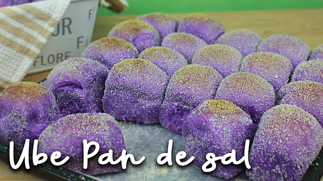 Filipino Purple Yam Bread Rolls