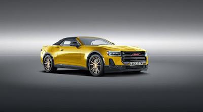 2020 Bizarro Camaro: Le coupé GMC vous fera rechercher #gmc