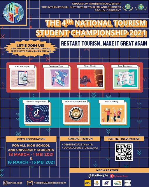 The 4th National Tourism Student Championship 2021