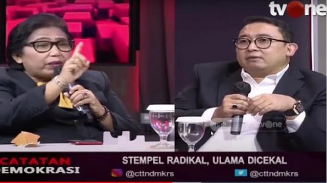 Panas, Irma Suryani ke Fadli Zon: Anda Siapa Mau Ngatur-ngatur