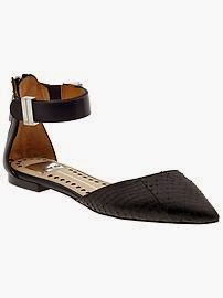 Dolce Vita flat with strap