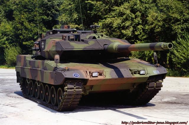 Alemania redefine su politica de seguridad nacional. - Página 2 Tanque%2BLeopard%2B2A6