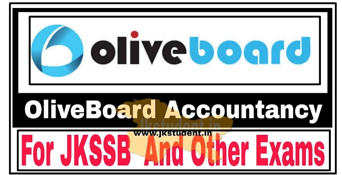 JKSSB   Download OliveBoard Free Accountancy Notes PDF