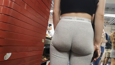 Mujeres bellas calzas pegadas nalgas redondas