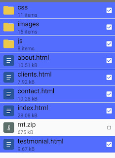 Host Website On Google Drive - Extract Website Files
