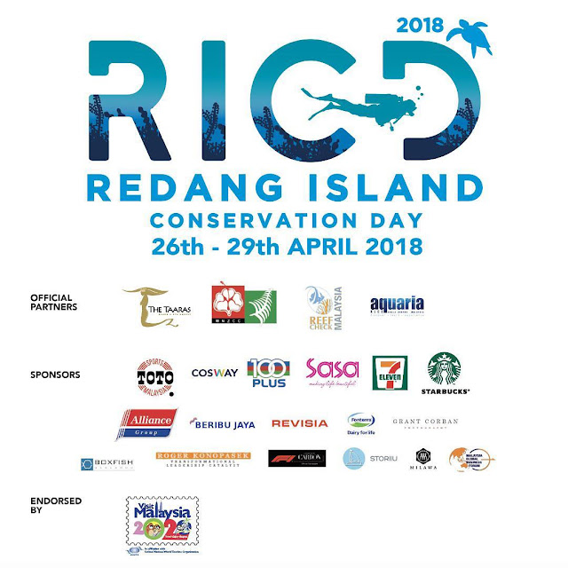 Redang Island Conservation Day 2018 , Preserving Mother Nature Together!