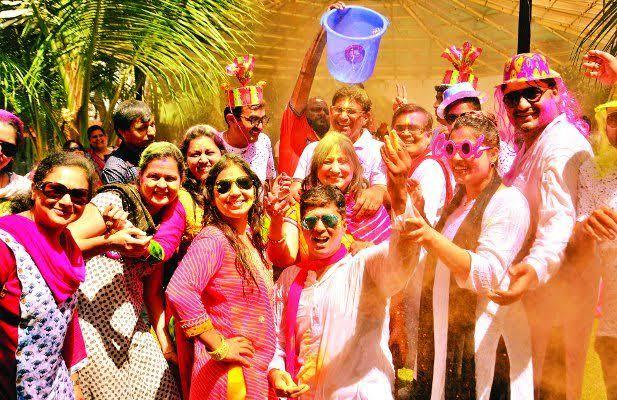 Holi celebration in mp (madhya pradesh)