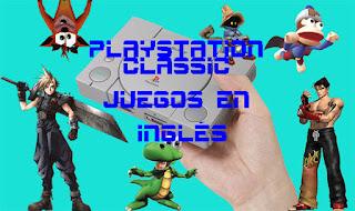 playstation classic mini ingles