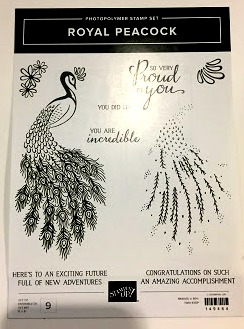 Royal Peacock Stampin Up