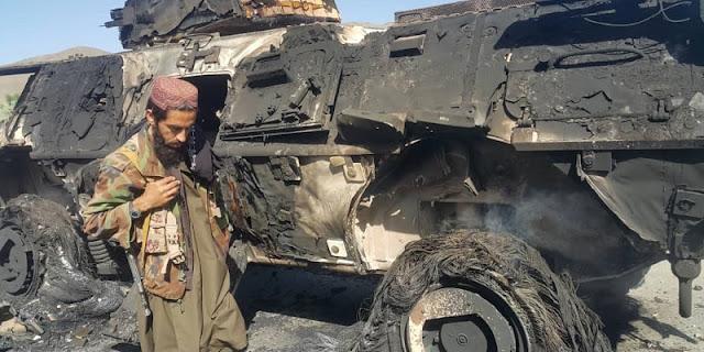 Taliban: CIA Hancurkan Semua Peralatan Militer Milik AS di Kabul Sebelum Penarikan Pasukan