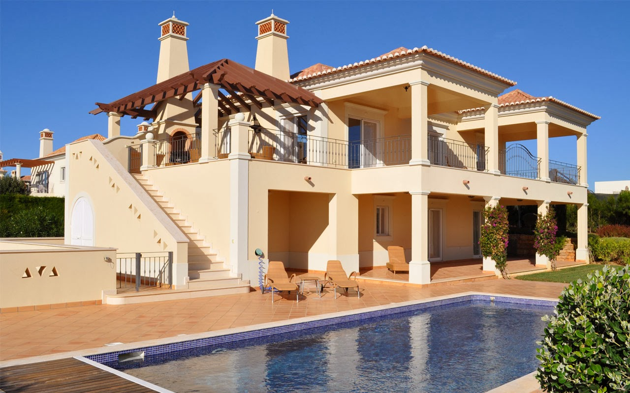 World visits plane of vacation luxury villa houses for Le case piu belle arredate