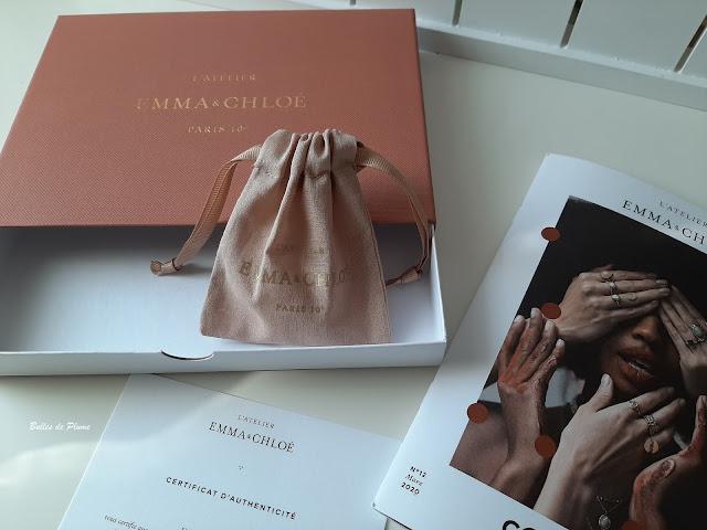 La box  bijoux L'Atelier Emma&Chloé de Mars 2020