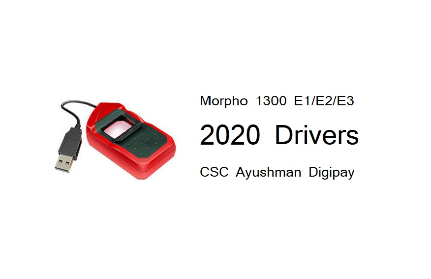 Morpho Rd Service And Drivers Update Download Tech Shakya
