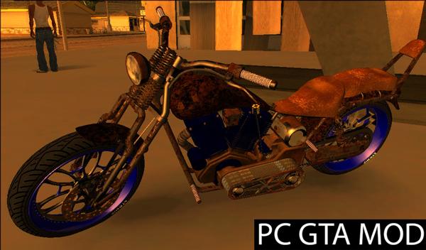 Free Download  GTA V Western Motorcycle Rat Bike V2  Mod for GTA San Andreas.